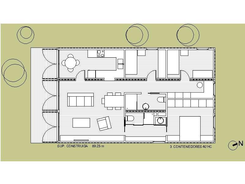 Contenedores mar timos vivienda modular y prefabricada - Pallets por contenedor ...