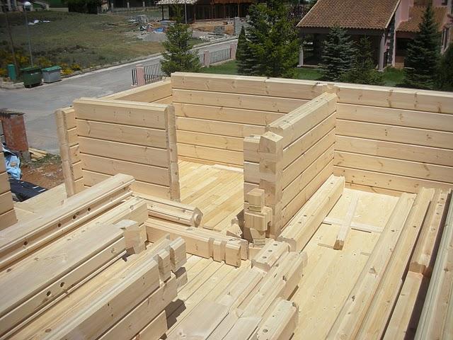 Madera maciza vivienda modular y prefabricada for Viviendas en madera