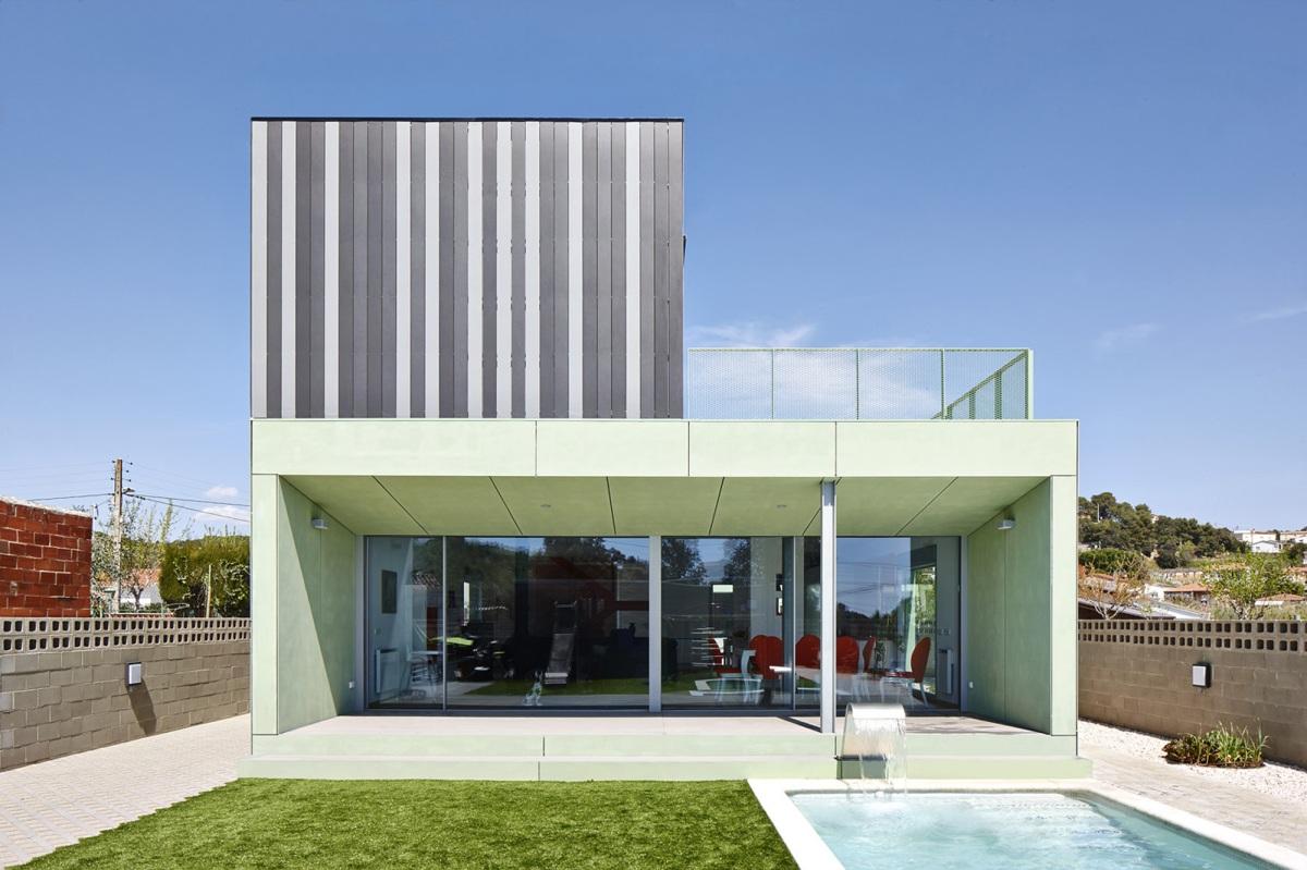 Casa ct construcci n ligera vivienda modular y prefabricada - Casa modular prefabricada ...